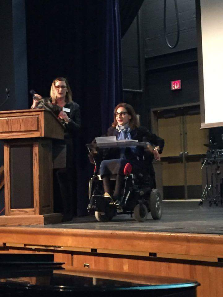 Induction into Hall of Pride at the Rondout Valley High School, 2016