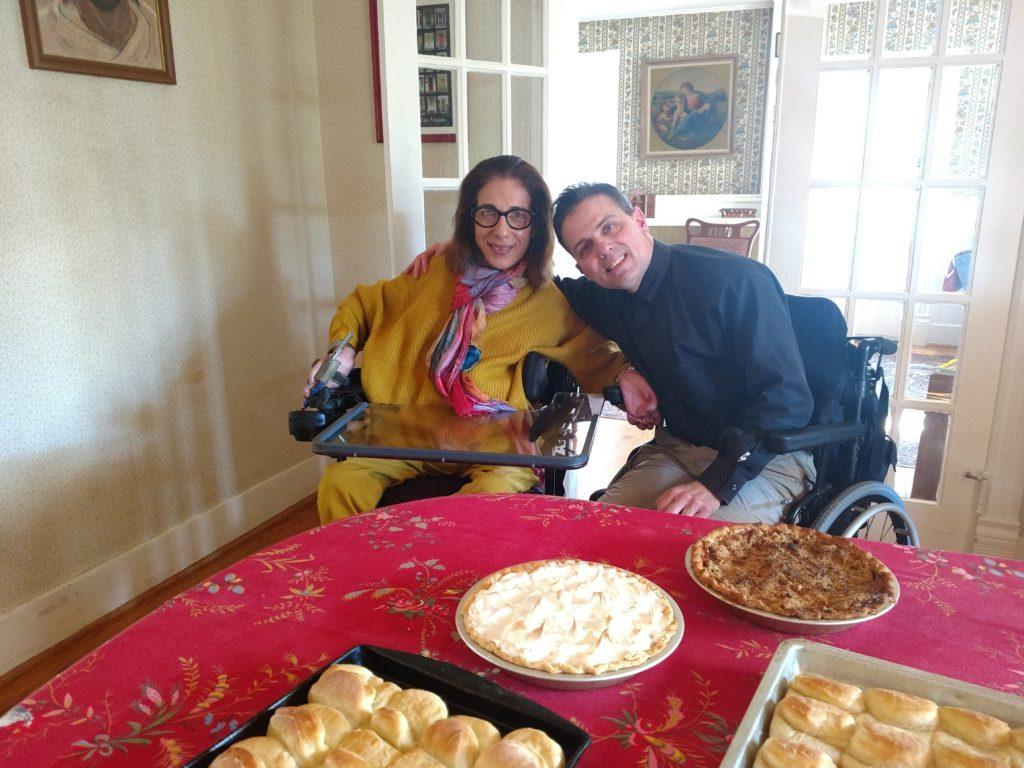 Happy on Wheels celebrates Thanksgiving, 2017.
