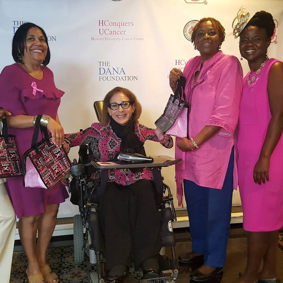 Happy Breast Cancer Survivors at the Rosemary Williams honorary brunch, 10-18.