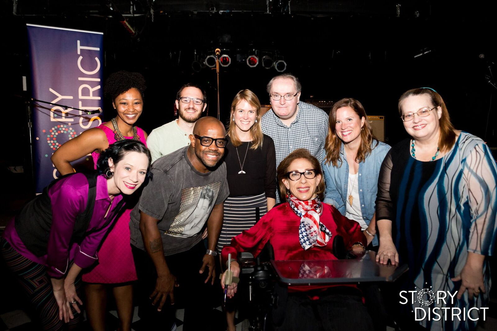 All the speakers at the Howl  event put on by Story District at the Black Cat in DC, 10-18.