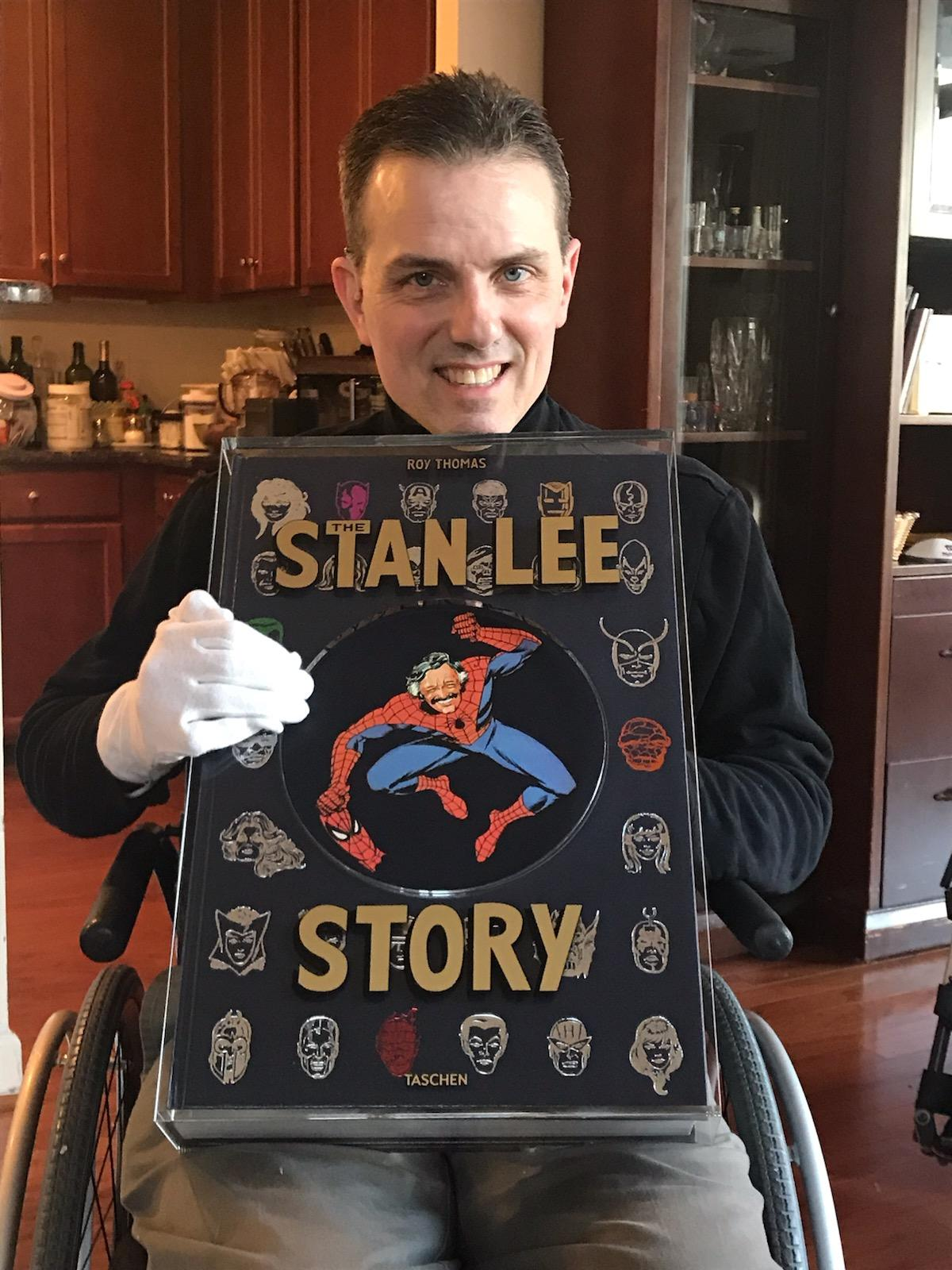 A fantastic early birthday gift (the Stan Lee Story), 12-18.