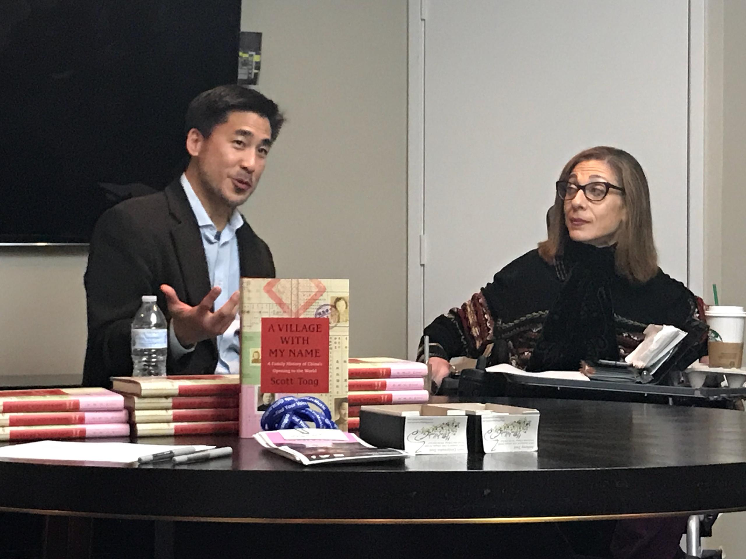 "Happy on Wheels Book Discussion with author, Scott Tong (""A Village with My Name: A Family History of China's Opening to the World,"" 2018."