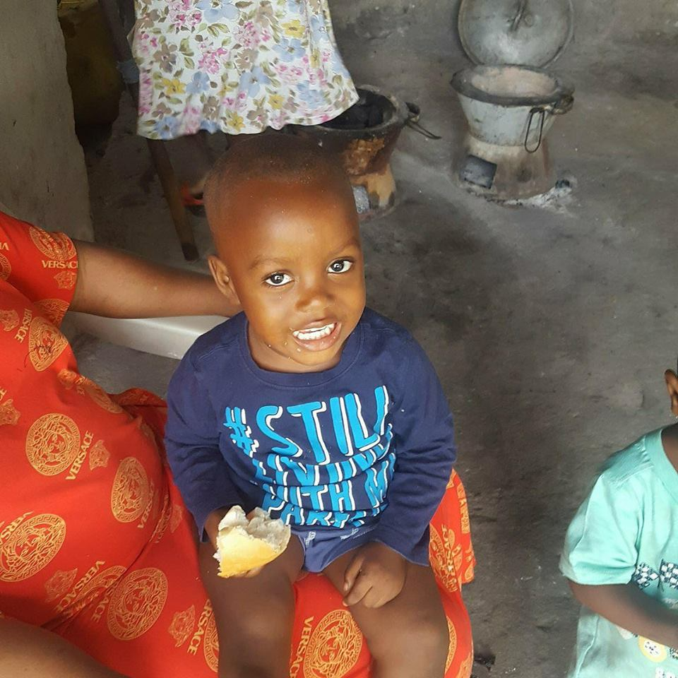 Charlie, our 'adopted' son in Sierra Leone, 2018