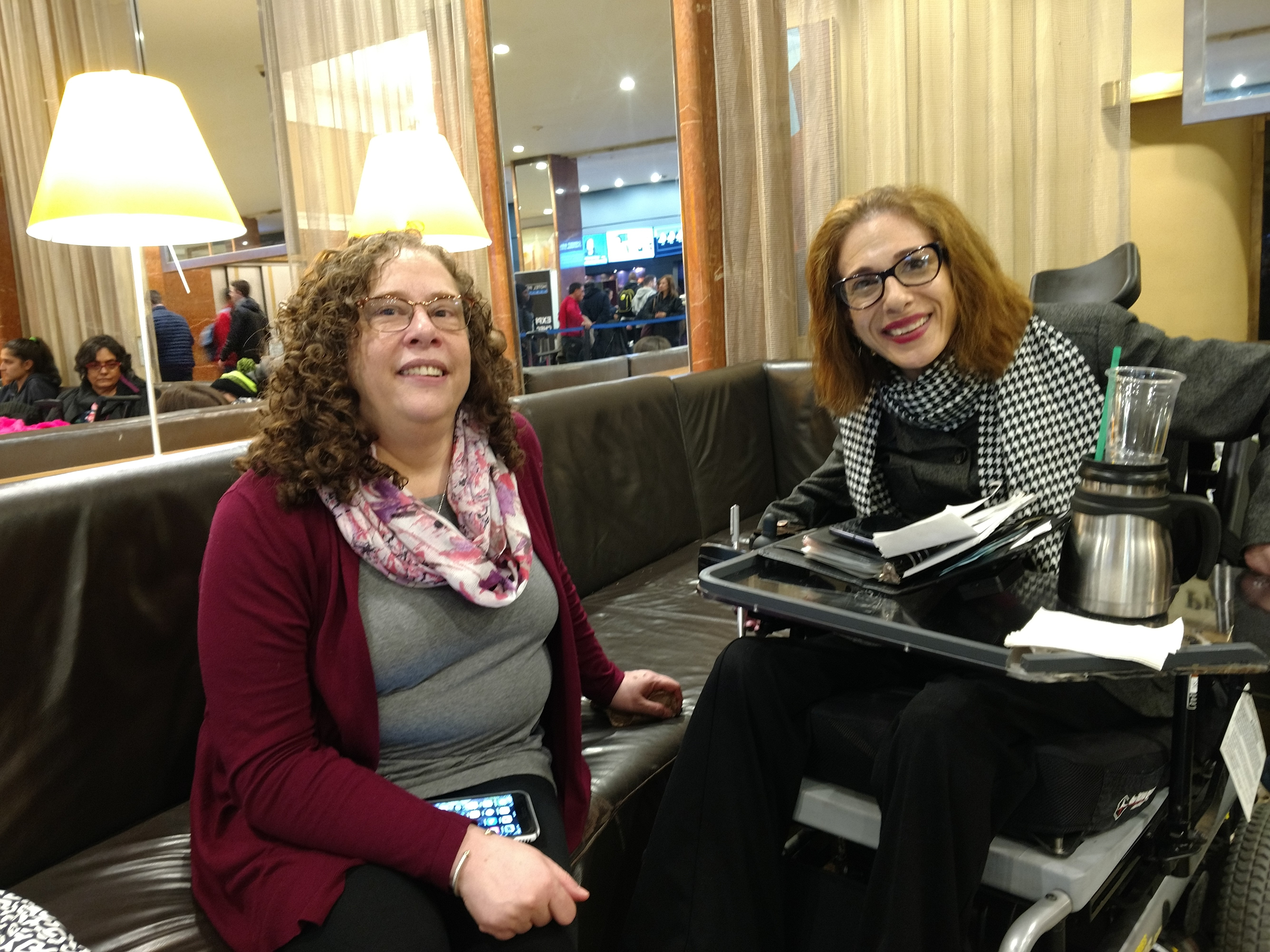 Meeting with Jane Herman in NYC, Senior Writer and Editor, Union for Reform Judaism, 2018.