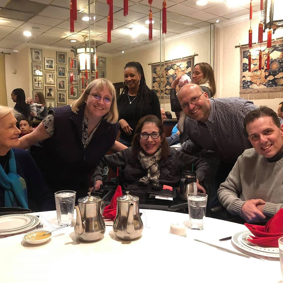 Birthday gathering of family and friends at Peking Gourmet to celebrate the 50th of lifelong friend Rob Pitera,2-19.