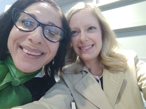 Sheri and UAlbany Director of Marketing and Content Strategy, Gabrielle DeMarco, 5-19.