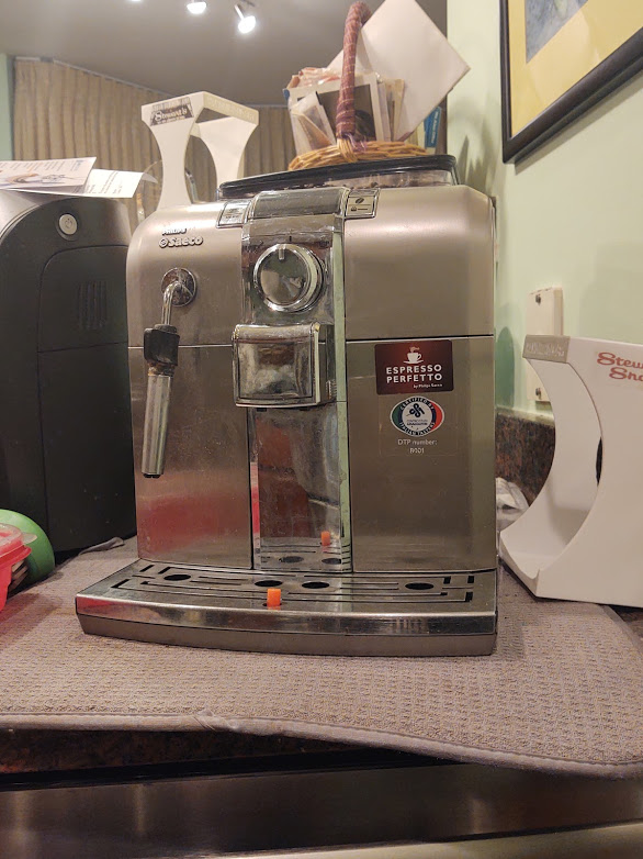 Happy on Wheels latte machine, the lockdown would be even more intolerable without it, 11-20.