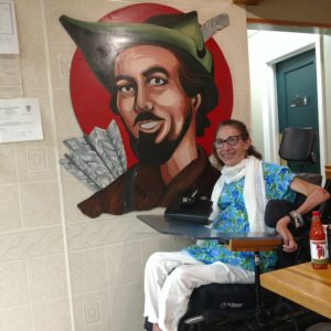 Sheri at Robin Hood restaurant