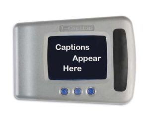 The I-Caption device