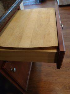 Cutting board as work space