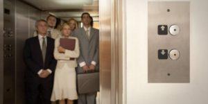 Elevator full of people who walk