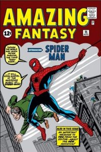 The cover of Amazing Fantasy 15