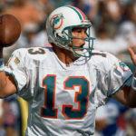 Dan Marino wearing a number 13 jersey.