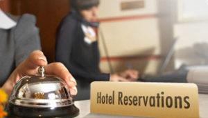Hotel Reservation Desk```