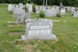 Denkensohn headstone