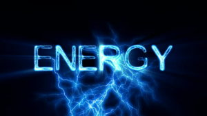 "Graphic that reads ""Energy."""