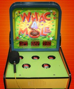 Whac-a-Mole video game