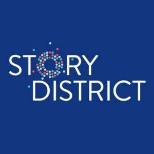 Story District logo.