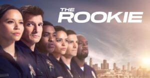 Title shot from the TV show the Rookie.