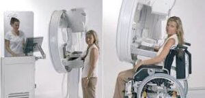 A Giotto  mammogram machine.