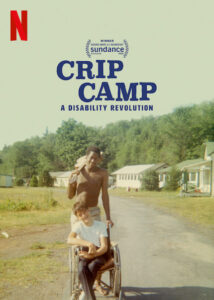Title shot from the documentary Crip Camp.