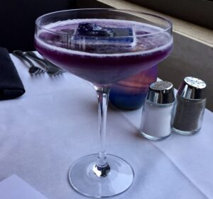 Hope Diamond Martini.