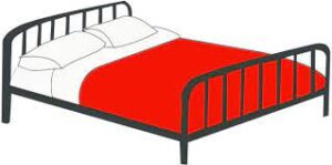 Graphic of a bed.